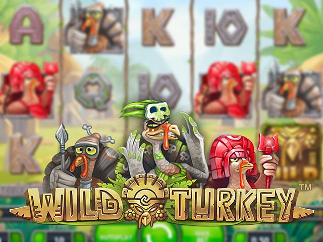 Wild Turkey от Netent в казино с бонусами